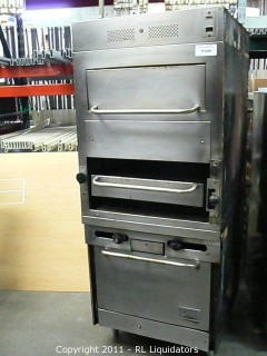 Broiler / Oven, Stainless Steel