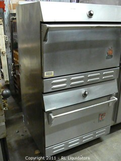 Wolf Oven, Stainless Steel Gas