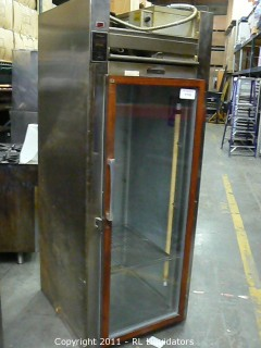 Traulsen Fridge, Glass Door