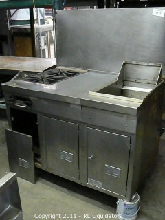 Stove & Deep Fryer, Gas