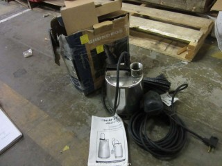 Used Grunfos submersible Pump