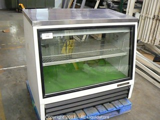 True Refrigerated Glass Display Case