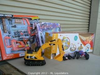 General merchandise Lot Retail Value $639.02