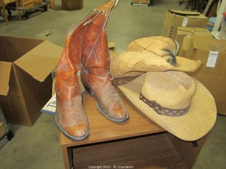 2-Cowboy Hats and boots
