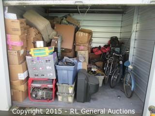 Lot #10002 10x10 Storage Unit Contents & BIDRL.COM Online Auction Marketplace - All Size (Sac) Self Storage ...