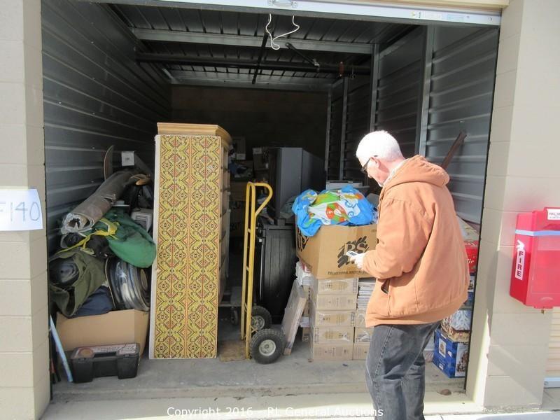 10x20 Storage Unit Contents & BIDRL.COM Online Auction Marketplace - Auction: West Sacramento Self ...