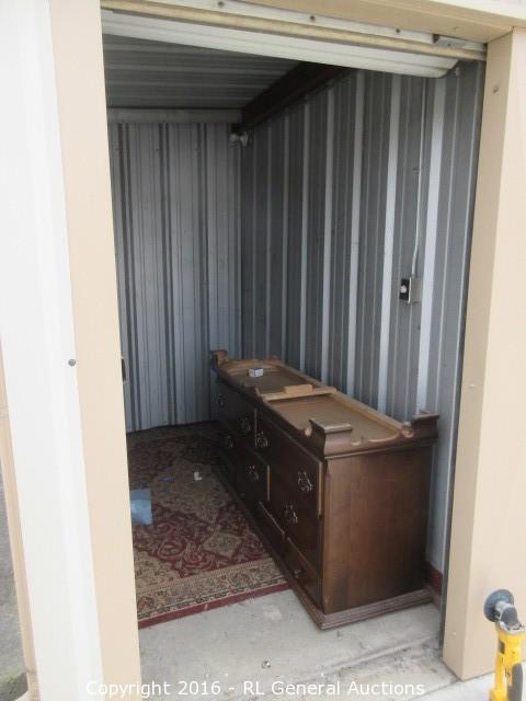 5x10 Storage Unit Contents & BIDRL.COM Online Auction Marketplace - Auction: Hwy 99 Self Storage ...