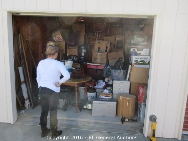 10x10 Storage Unit Contents & BIDRL.COM Online Auction Marketplace - Auction: Napa Storage and RV ...