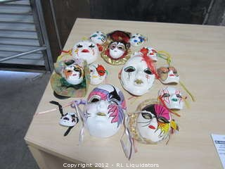 Collection of Clown Mask