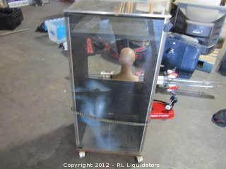 Cabinet for stero/glass door