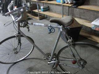 Bike with locks