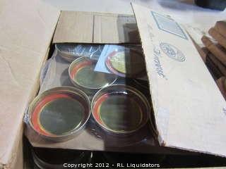 2-Boxes Mason Jars NIB