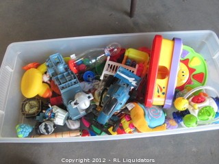 Various lot of childrens toys