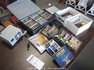 Tapes/Windows,electronics,etc