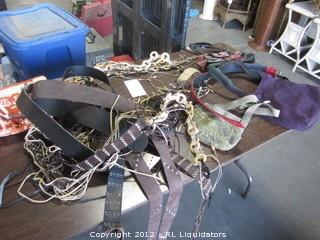 Awhole lot of belts