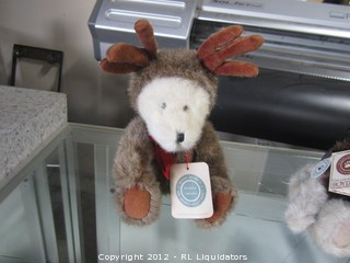 Boyds Bear with Antlers