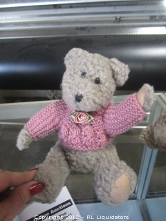 Boyds Bear Collection-with knitted sweater