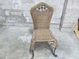 Rattan Chair Honey