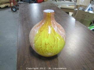 Very Colorful Decorative Vase