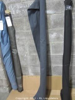 Material for upholstery Dark Gray