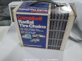 Campbell Radial Tire Chains