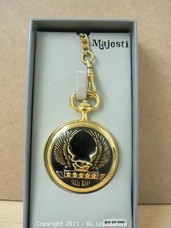 Majestic Gold Pocket Watch