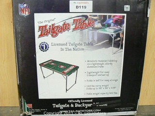 49ers Tailgate Table
