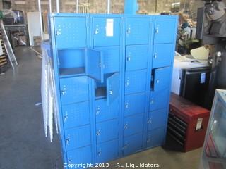 Blue Lockers/24