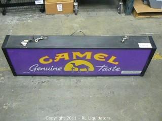 """""""Camel"""" Indoor Sign"""