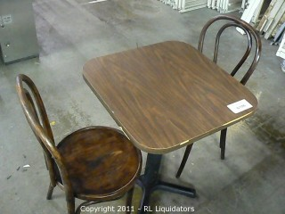 Table & Chairs (2)