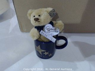 Dolls & Bears Just Annette Funicello Hollywood Star Collectible Bear Mug Set