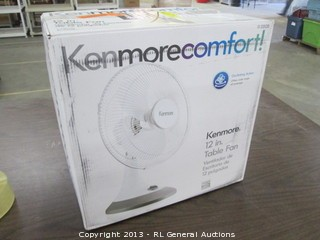 Kenmore comfort electric fan