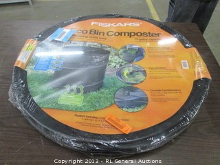 Fiskars Eco Bon Composter/ 75 gallon capacity