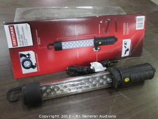 Craftsman 35 led rechargeable work light