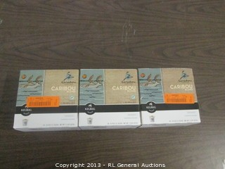 3-boxes of coffee