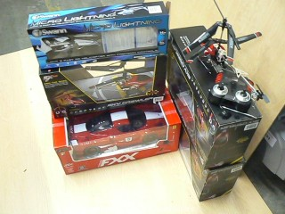 Assorted R/C Toys