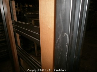 Retail Slatwall / Pegged Display Fixture, ADIDAS