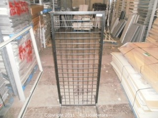 Retail Grid Wall Display Fixture
