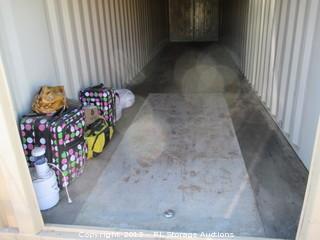 Lot #0901 8 X 40 Storage Unit Contents