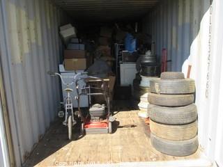 Lot #0902 8 X 20 Storage Unit Contents