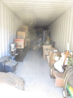 Lot #0905 8 X 40 Storage Unit Contents