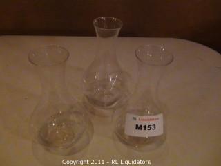 3 Wine Decantors