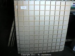 """Slatwall, 3.5"""" Sqaure"""