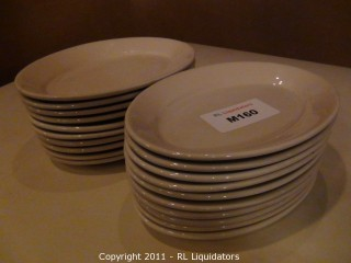 20 China Oval Platters