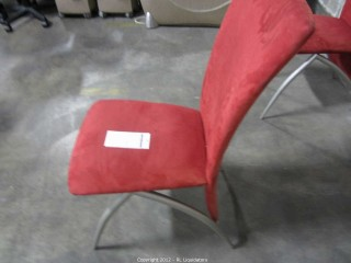 Red Swede Like Chair