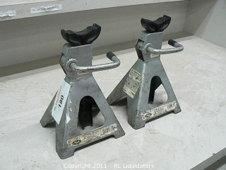 Pair of Automotive Stands
