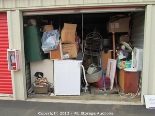 Lot #1100 10 X 20 Storage Unit Contents & BIDRL.COM Online Auction Marketplace - Airport Park Storage ...