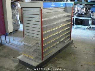 Slatwall Display Kiosk