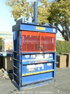 Cram-A-Lot Commercial Cardboard Baler