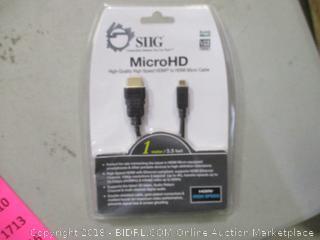 Micro HD Cable